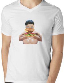 Burger Boy! Mens V-Neck T-Shirt