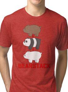 Bear Stack Tri-blend T-Shirt