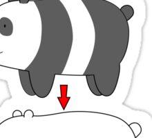 Bear Stack Sticker