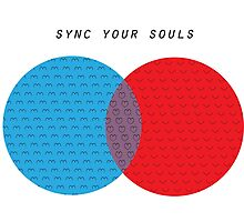 Sync your souls Photographic Print