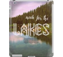 Made for the Lakes iPad Case/Skin