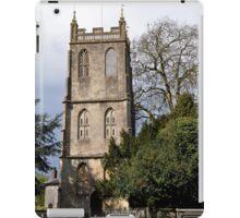Tower - St Mary the Virgin, Berkeley, Gloucestershire  iPad Case/Skin