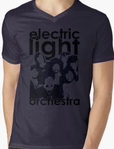 E.L.O. Modern Mens V-Neck T-Shirt