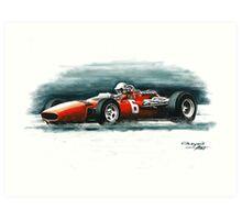 1966  Ferrari 312 F1 Art Print