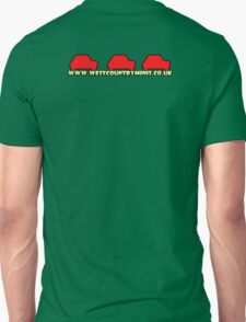 West Country Minis - Banner (Rear) Unisex T-Shirt