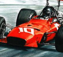 1968  Ferrari 312 F1 Sticker
