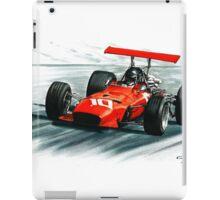 1968  Ferrari 312 F1 iPad Case/Skin