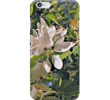 Flowers in White (Ver. 2) iPhone Case/Skin
