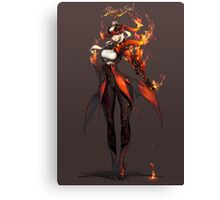 Blade And Soul Canvas Print