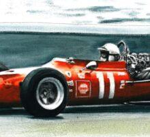 1969  Ferrari 312 F1 Sticker