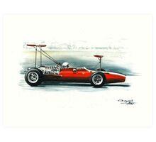 1969  312 F1. Test car, Modena Art Print