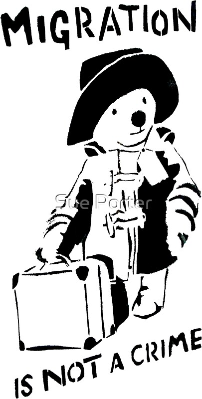 paddington bear stickers redbubble