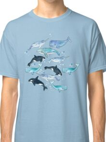 Whales, Orcas & Narwhals Classic T-Shirt