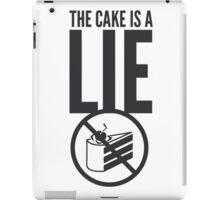 Portal - Cake is a Lie iPad Case/Skin