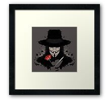 Ink for Vendetta Framed Print