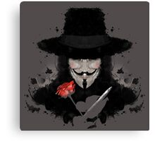 Ink for Vendetta Canvas Print