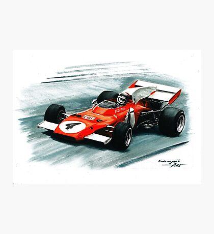 1972  Ferrari 312B2 Photographic Print