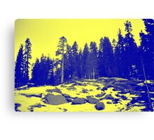 Don't Eat The Yellow Snow! Canvas Print