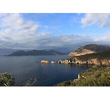 Day Breaks over Freycinet Photographic Print