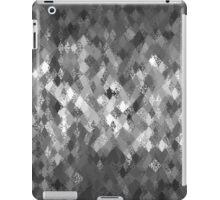 Monochrome Abstract Harlequin Pattern  iPad Case/Skin