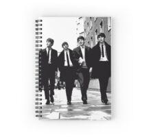 beatles Spiral Notebook