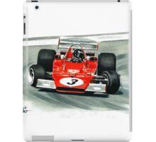 1973  Ferrari 312B3 iPad Case/Skin