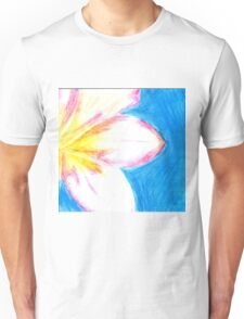 Peaceful Plumeria  Unisex T-Shirt