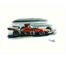 1973  Ferrari 312B3 Art Print