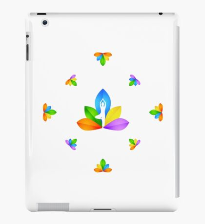 yoga passion iPad Case/Skin