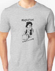 Migration Is Not A Crime - Banksy Unisex T-Shirt