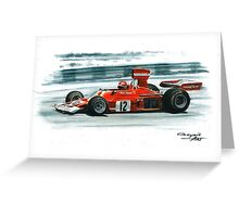 1974  Ferrari 312B3 Greeting Card