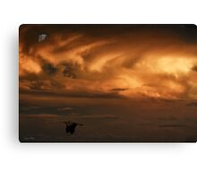 Clouds of the Golden Hour Canvas Print