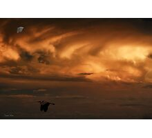 Clouds of the Golden Hour Photographic Print