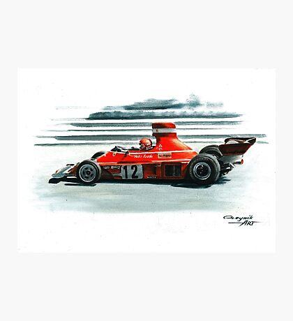 1974  Ferrari 312B3 Photographic Print