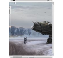 Time to go: Lancasters on dispersal iPad Case/Skin