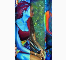 Blue Spirit, 50-80cm, 2015, oil on canvas Unisex T-Shirt