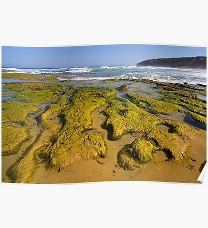 Low Tide - Seascape Poster