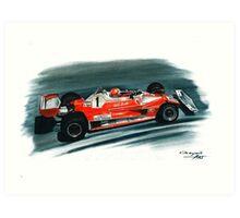 1976  Ferrari 312T2 Art Print