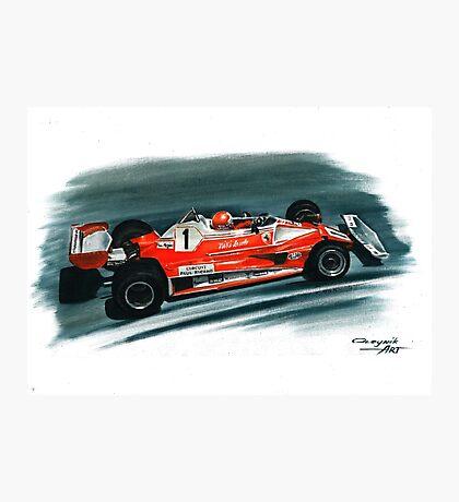 1976  Ferrari 312T2 Photographic Print