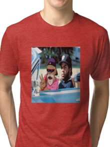 Master Roshi x Ice Cube collab Tri-blend T-Shirt