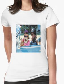 Master Roshi x Ice Cube collab Womens Fitted T-Shirt