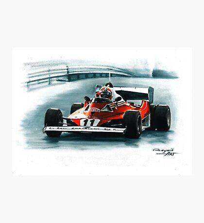 1977  Ferrari 312T6 Photographic Print