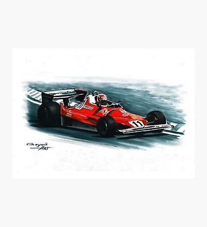 1977  Ferrari 312T2 Photographic Print