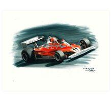 1977  Ferrari 312T2 Art Print