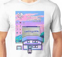 8-bit vaporwave aesthetics Unisex T-Shirt