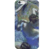 Edgar Degas - Blue Dancers iPhone Case/Skin