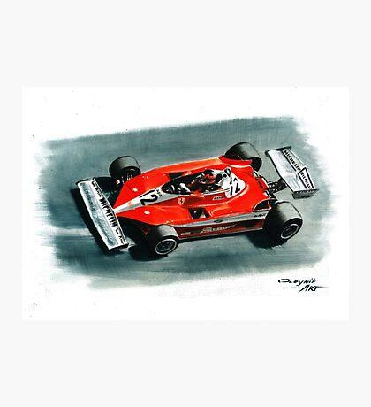 1978  Ferrari 312T3 Photographic Print