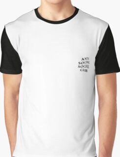 Anti Social Social Club pocket logo Graphic T-Shirt
