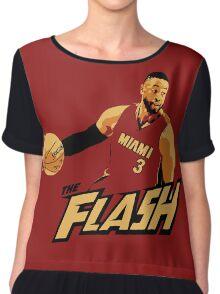 """Dwyane """"The Flash"""" Wade Chiffon Top"""