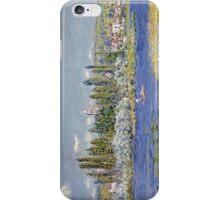Claude Monet - Vetheuil iPhone Case/Skin